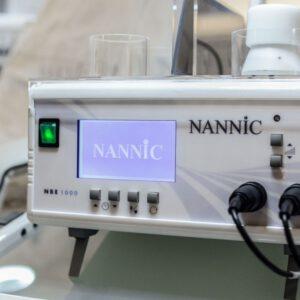 NANNIC on asiantuntija Kivuton, turvallinen ja tehokas hoitomenetelmä. Suosittu Nannic radiofrekvenssihoitolaite kiinteyttää ja aktivoi ihon solutoimintaa.